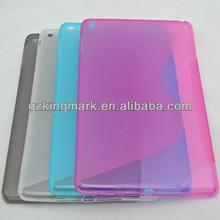 For New iPad 2 3 4 case,For Mini iPad TPU Case / Noble Fresh S Line Design for Mini iPad TPU Case/ TPU Case for iPad Mini