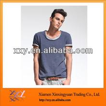 Cheap Gray t-shirt Plain For O-neck Fitted Custom Dress