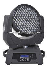rotating led rgbw party stage light led 108x3w rgbw led moving head wash with zoom