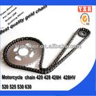 Chinese manufacturer spare parts chain sprocket set for go kart sprocket