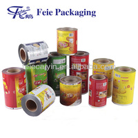 Plastic Packaging Printed aluminum foil laminated roll film