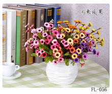 Chrysanthemum many colors total 29cm long bedroom/drawing room/balcony decoration