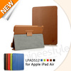 2013 New Arrival accessories for Apple iPad Air 64gb, PU Leather Case For iPad 5, High Quality For iPad 5 Leather Case