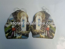 Holy Virgin (Virgin Mary) paper air freshener for car