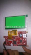 "4.3"" Touch TFT LCD Module, 400unit, 2x5pcs LED lights, 24bit RGB interface"