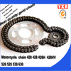 Chinese manufacturer spare parts chain sprocket set for kawasaki atv parts