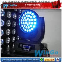 RGBWA 5in1 Led moving head wash lighting / colorful moving head led / Disco moving head