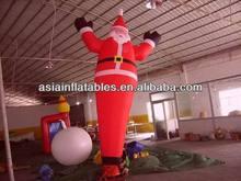 2014 Advertising Inflatable Santa Air Dancer