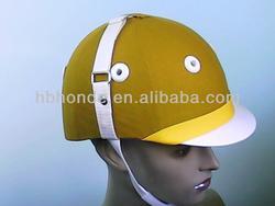 Polo helmet for horse racing