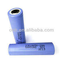 Battery Samsung 2800mAh and 3.7V High Capacity Rechargeable Lithium Ion Battery Series Such as 18650, 18500, 26650, 14500 etc