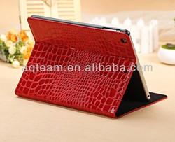 Luxury Crocodile Skin Tablet Leather Case for IPad 5 Air