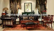 V156 3+2 american classic leather sofa