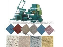 KB-125E/400 mosaic stone tiles making machine/ Concrete Tile Machine