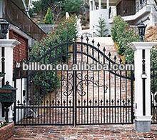 2013 manufacturer iron side gate house decorive gates door