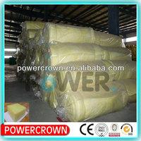 High quality thermal conductivity glass wool insulation, glass wool bats