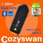 BEST MK809 II mini pc Bluetooth rk3066 android 4.2 HDMI Dongle android 4.1 mk809ii mini pc mini keyboard mouse