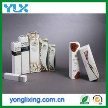 stampati personalizzati scatole cosmetiche di carta in una fabbrica di porcellana