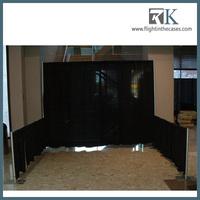 2013 Black Chiffon Backdrop Drapery Sets for Pipe & Drape Exhibits