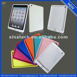 Silicon cover for ipad mini retina,shockproof silicon case for ipad mini 2