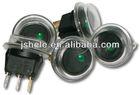 WATERPROOF GREEN LED ROCKER SWITCH -BOAT/CARAVAN/CAR