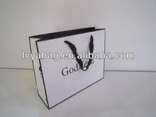 Low price paper bag, gift bag, packing bag, shopping paper bag