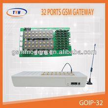 Gsm sim box voip 32 ports gateway /gsm fxo fxs gateway