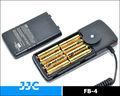 Jjc fb-4 externa compacta bateria flash substitui pentax tr power pack iii para pentax af-540 fgz speedlight
