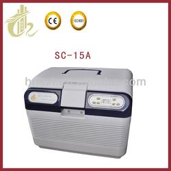 car mini cooler and warmer auto fridge/auto minibar/car minibar