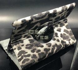 Sexy Leopard Folio PU Leather Smart Cover For iPad Mini