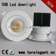 2013 led downlight 20w cob led ztl