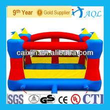 2013 charming PVC cheap bouncy castle for kids