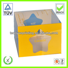 plastic box/china box packaging/clear plastic cupcake boxes packaging