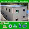 hot sale two storey economic construction site modular house