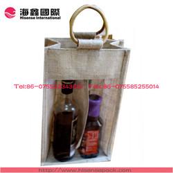 shenzhen hisensapack wine bottle tote bags
