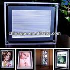 DC12V A3 Size LED Lighting Acrylic Frame