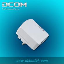 one port 500M wallmount homeplug mini oem plc adapter powerline wifi