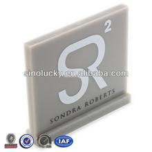 Acrylic Brands Sign /Acrylic block with customized logo / Acrylic Logo Blocks
