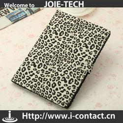 Hot Sale Leopard Design PU Leather Cover For iPad 5