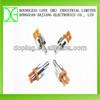 Audio rca female jack to bnc male plug 24mm length
