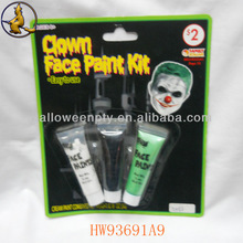 Fancy Tearful Clown Face Paint Kit Halloween Makeup