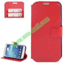 Multifunctional Smooth Texture Wallet Leather Case for Samsung Galaxy S4 Active with Credit Card Slot & Holder