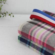 100% yarn dyed cotton fabric.