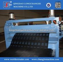 HDPE plastic geocell machine