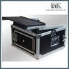 RK 10U Slant Mixer Rack, 2U Vertical Rack Black case