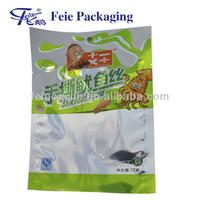 Aluminum Foil Bag ,Food Packaging Plastic 3 sides Seal for Squid ,