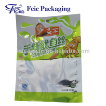 Aluminum Foil Bag ,Food Packaging Plastic 3 sides Seal for Squid ,