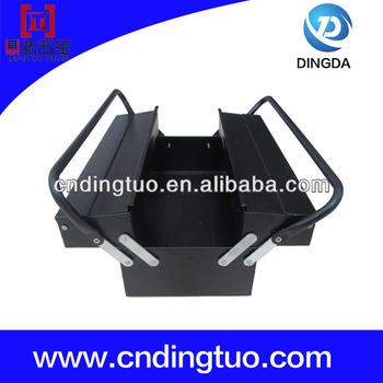 Quality and Quantity assured portable aluminum tool box