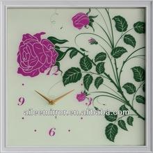 2013 hot selling crystal clock awards decoration fashion clock dali melting wall clock