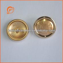 gold alloy button garment decoration