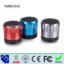 Portable compatible usb/fm mini bluetooth speaker with Radio